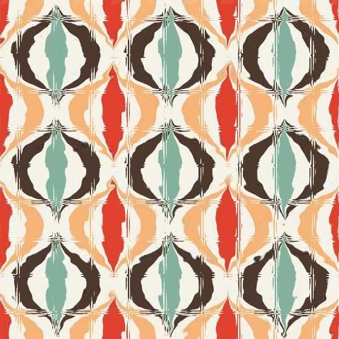 Adesivo para Azulejo 15x15cm Moderno Estampado 16 peças Cosi Dimora