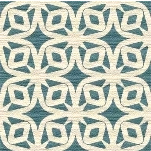 Adesivo para Azulejo 15x15cm Moderno Estilizado 16 peças Cosi Dimora