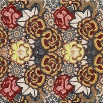 Adesivo para Azulejo 15x15cm Patchwork Estampado 16 peças Cosi Dimora