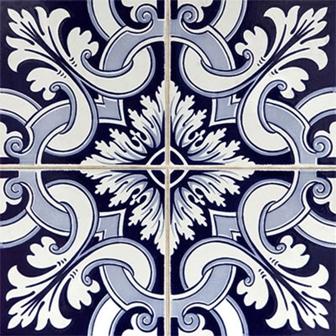 Adesivo para Azulejo 15x15cm Português Decorativo 16 peças Cosi Dimora
