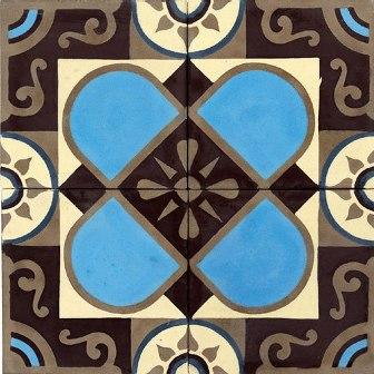 Adesivo para Azulejo 15x15cm Retrô Decorativo 16 peças Cosi Dimora