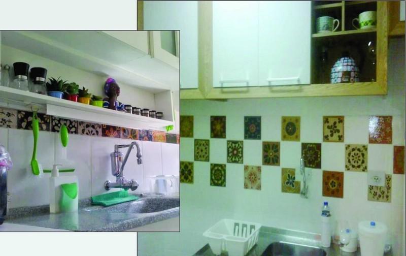 Adesivo para Azulejo Valência Mosaico
