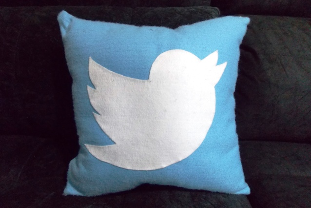 Almofada Twitter Handmade Sensuelle