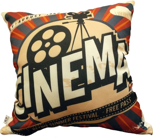 Capa de Almofada Cinema Retro Cosi Dimora