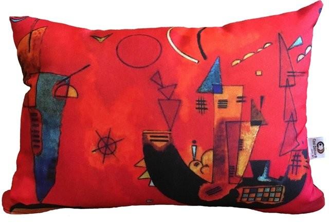 Capa de Almofada Kandinsky Mit Und Gegen 25x35cm Cosi Dimora