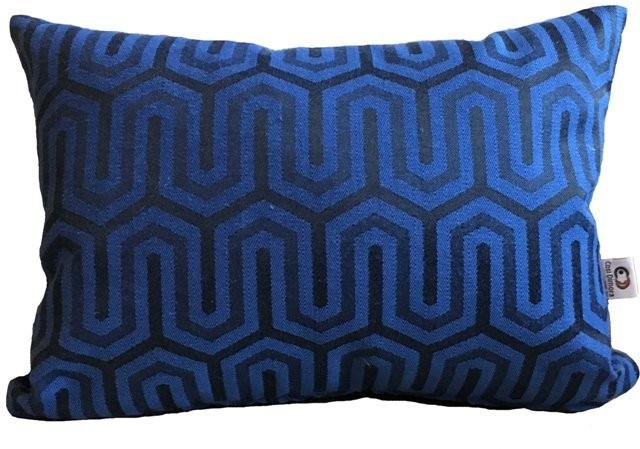 Capa de Almofada Panamá Azul Cosi Dimora