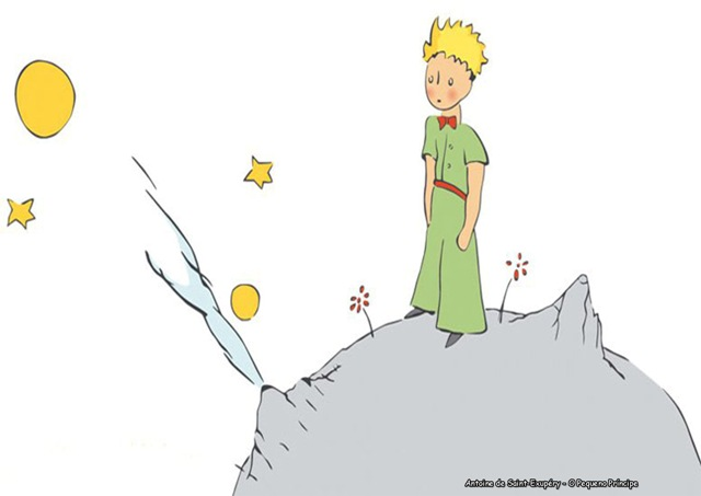 Pôster Adesivo O Pequeno Príncipe