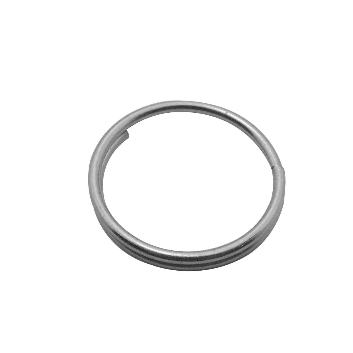 Argola Dovale Pequena 15mm Pacote com 500 gramas - 95002