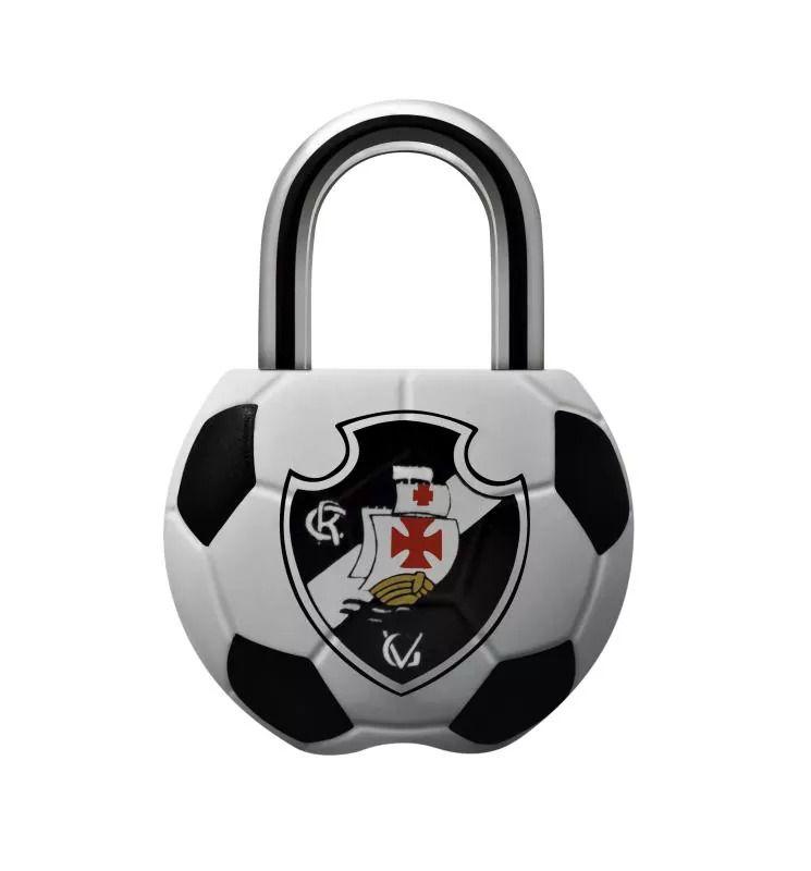 Cadeado Papaiz Futebol Vasco Misto 25 MM - 12125