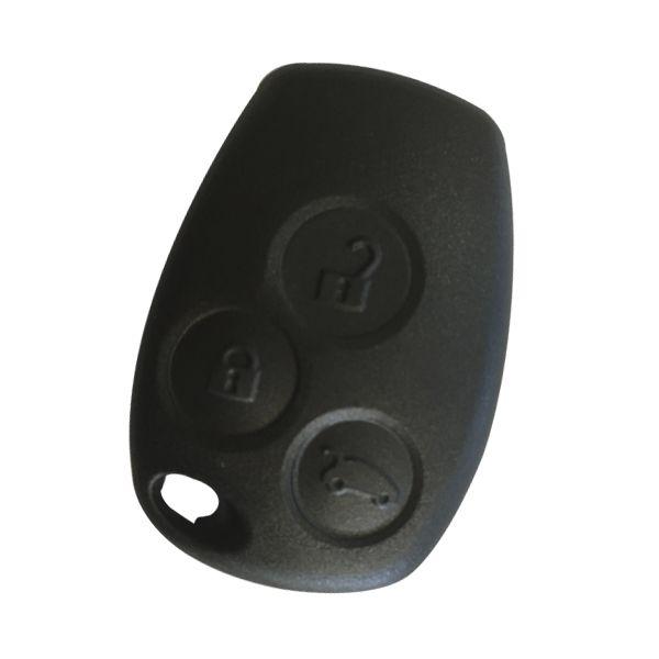 Capa Frontal Alarme Sandero Logan 3 botões - 22141