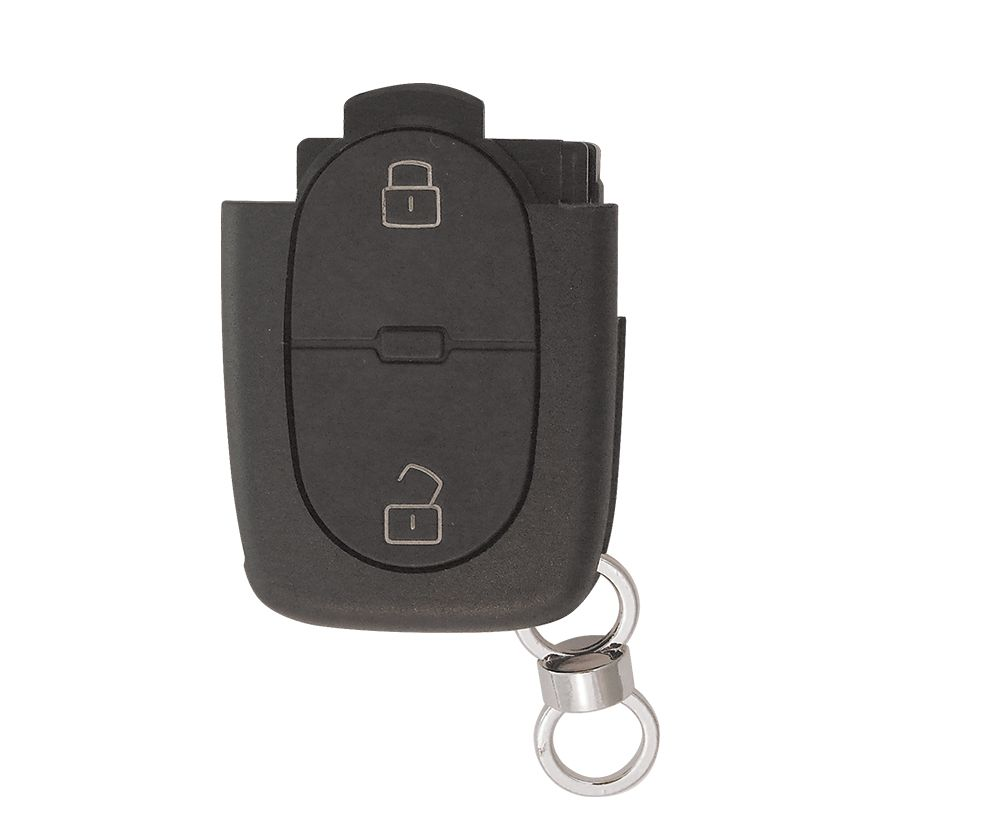 Carcaça p/ Controle Audi Telecomando 2 Botões (Oca) - 16595