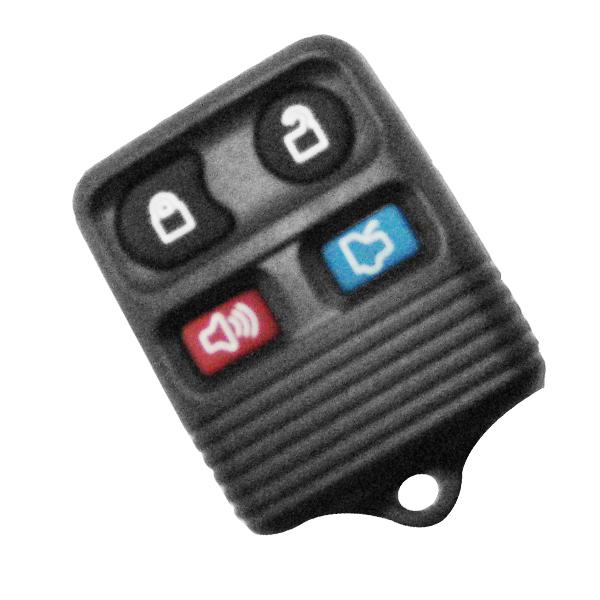 Carcaça P/ Controle Ford Fiesta 4 Botões Oca - 29112