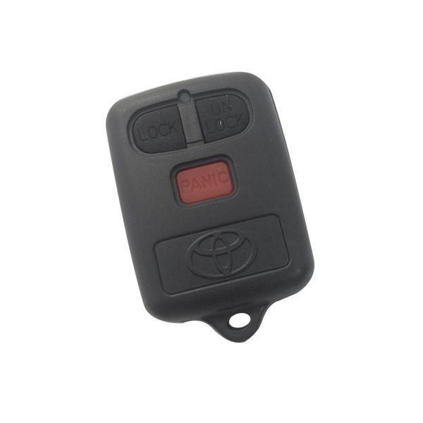 Carcaça para Controle Toyota Corolla 2 Botões + Pânico Oca - 121115