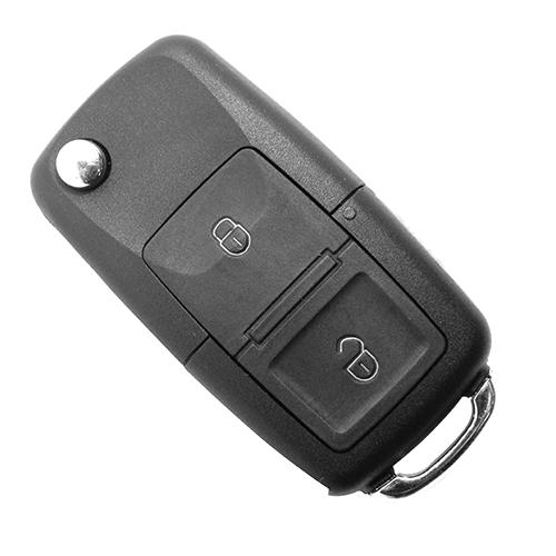 Chave Canivete Ford Controle 2 Botões + Pânico - 60495