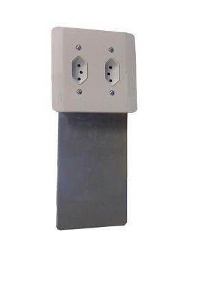 Cofre Embutir na Parede Vertical 4B 170 X 105 X 95mm - 54009
