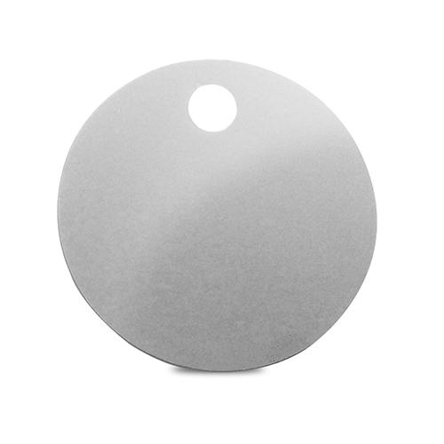 Etiqueta de Alumínio Redonda 30mm Pct C/12- 71761