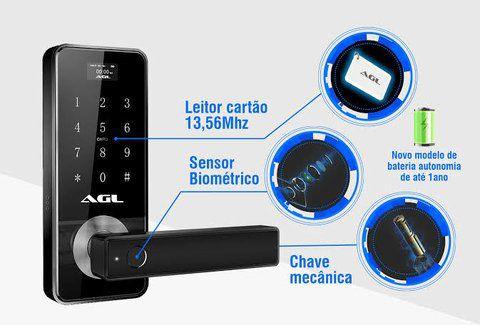 Fechadura Digital H10 AGL - 40059