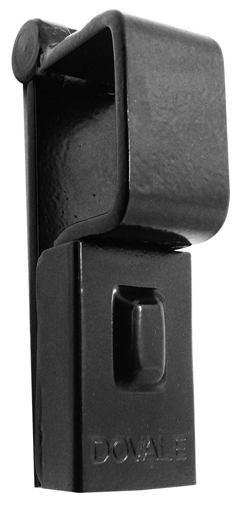 Porta Cadeado p/ Portão Dovale N.2 - 43 X 38 - Preto - 73502