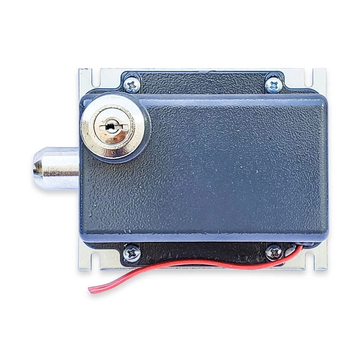 Trava Eletromagnética AGL 220V - Cinza C/ Módulo - 40076