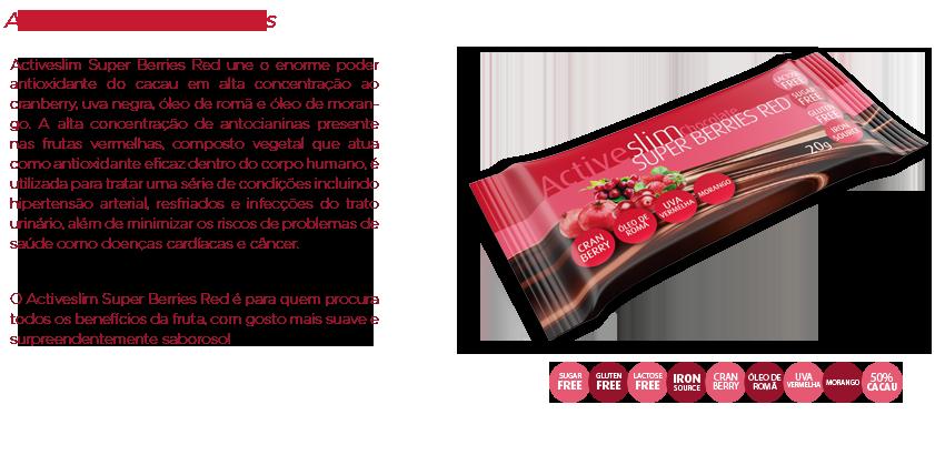 ActiveSlim Super Berries Red