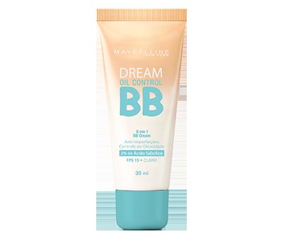 BB Cream Dream BB Oil Control Maybelline 30ml - Base Facial - Claro