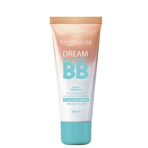 BB Cream Dream BB Oil Control Maybelline 30ml - Base Facial - Escuro