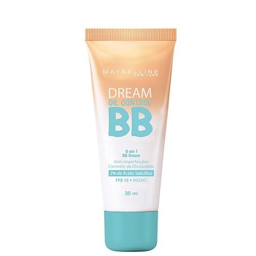 BB Cream Dream BB Oil Control Maybelline 30ml - Base Facial - Médio