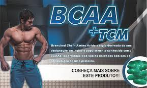 BCAA 2400 mg + TCM 60 Capsulas