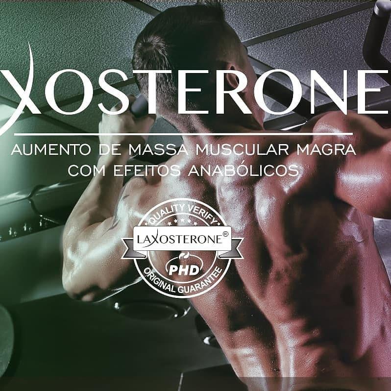 Laxosterone® 35mg + Bioperine 5mg 60 Cápsulas