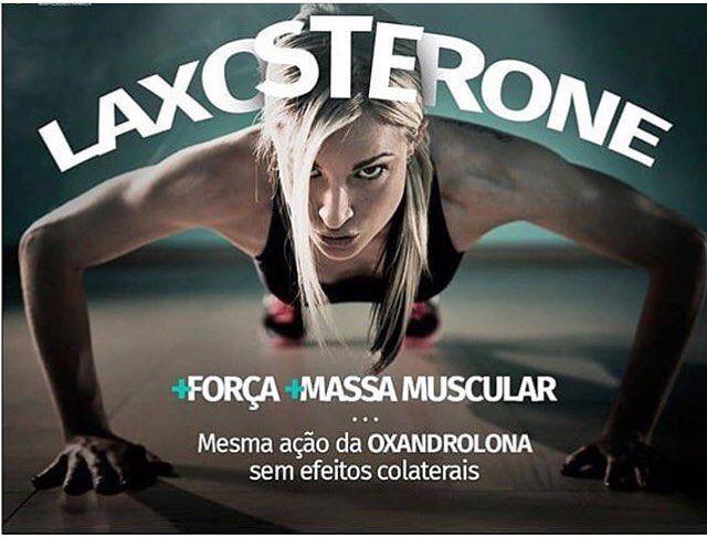 Laxosterone® 50mg 60 Cápsulas