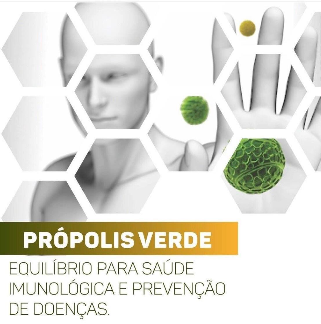 Própolis  Verde e Associações