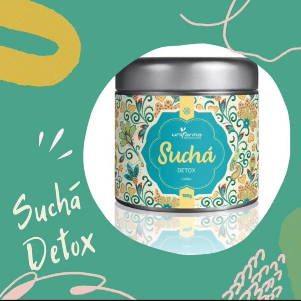 Suchá Detox 180 Gr tem como função aumentar os níveis de energia, concentração, limpar o organismo, melhorar a digestão e são nutritivos.