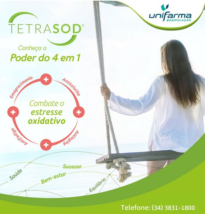 TetraSOD® 8 mg 60 capsulas