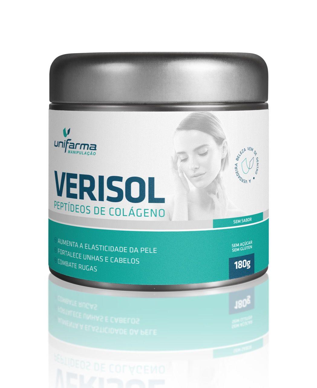 "Verisol 2,5 gramas - 150 gr  "" Tratamento para 2 meses"""