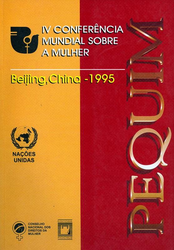 Conferência Mundial sobre a Mulher, IV  - Livraria Virtual da Editora Fiocruz