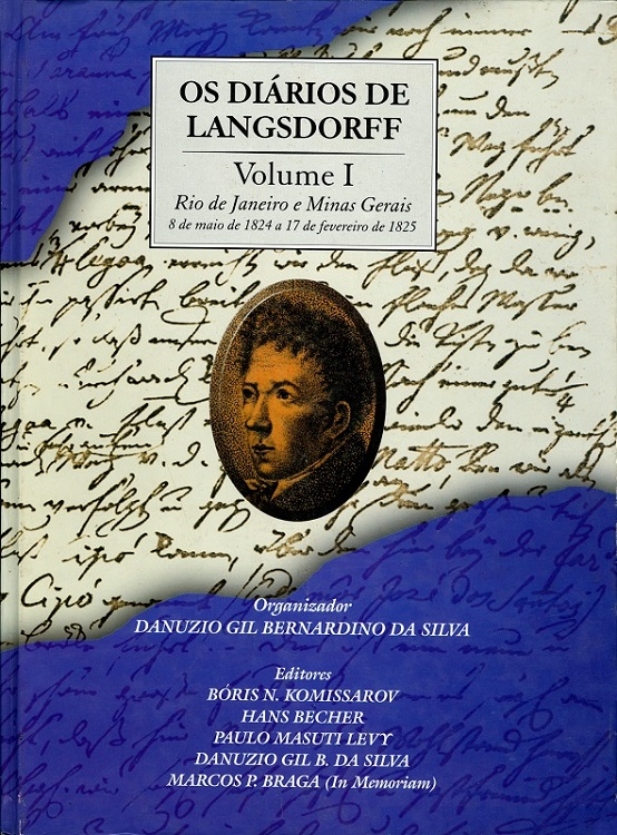 Diários de Langsdorff, Os - Volume I  - Livraria Virtual da Editora Fiocruz
