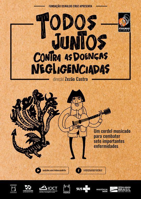 #DVD - Todos juntos contra as doenças negligenciadas  - Livraria Virtual da Editora Fiocruz