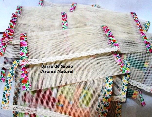 Kit com dois sabonetes  - Barra de Sabão - Aroma Natural