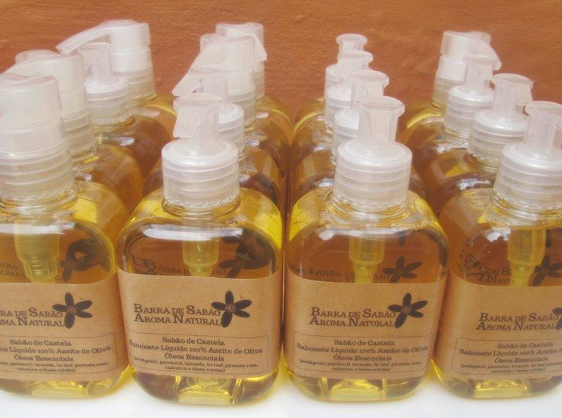 Sabão de Castela - Sabonete Líquido 100% Azeite de Oliva - 63
