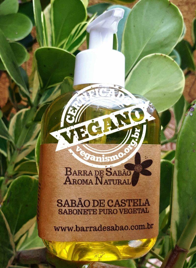 Sabão de Castela - Sabonete Líquido 100% Azeite de Oliva - 67  - Barra de Sabão - Aroma Natural
