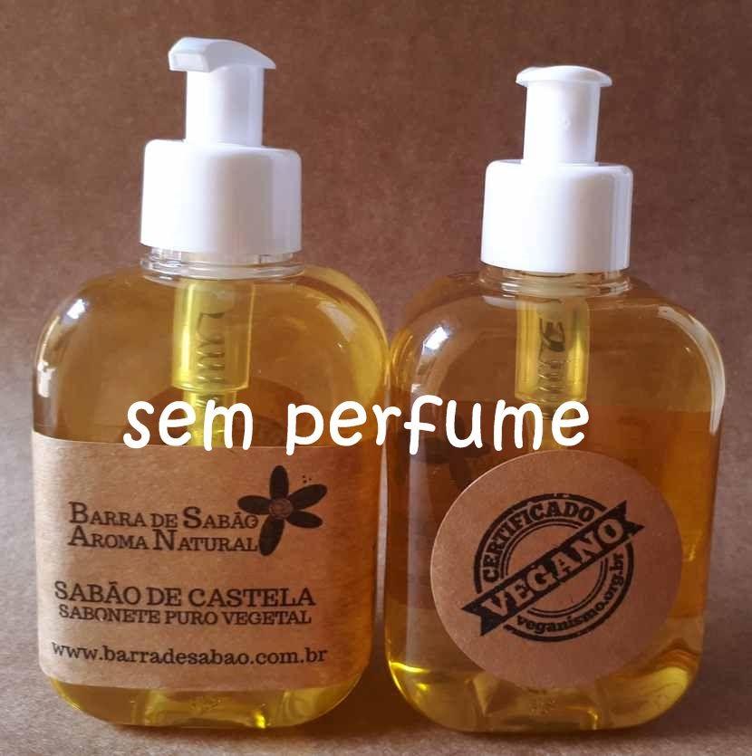 Sabão de Castela - Sabonete Líquido 100% Azeite de Oliva sem Perfume