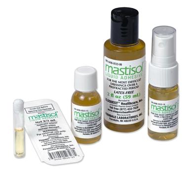 Mastisol® Protetor Cutâneo com Adesivo Líquido para Curativo (frasco 15ml c/spray)