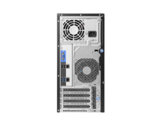 Servidor Hp Proliant ML30 E3-1220v6 8gb 2x1tb Gen9 DVDRW 1 ano on-site  - TNTinfo Loja