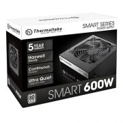 Fonte ATX Thermaltake 600W Smart Series 80 Plus PFC Ativo SPD-0600P PS-SPD-0600NPCWBZ-W