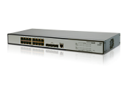 Switch HP JE005A Gigabit 20 portas ProCurve HP V1910-16G Rack (16 x Gigabit; 4 x Combo) (Antigo 3Com 3CRBSG2093) (JE005A)