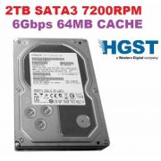 Hd Hitachi Enterprise 2tb 2000gb 64mb Sata3 6gb/s 7200rpm 3,5""