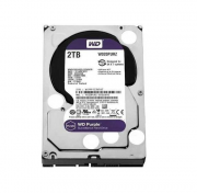 Hd Interno Wd Purple 2tb Sata 3 6gb/s 64MB 5400 Rpm - Wd20purz