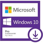 Microsoft Windows 10 Pro 32/64 Bits ESD - FQC-09131 - Digital para Download