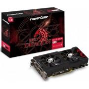 Placa De Vídeo Amd Powercolor Radeon Rx 500 Series Rx 570 Axrx 570 4gbd5-3dhd/oc Oc Edition 4gb
