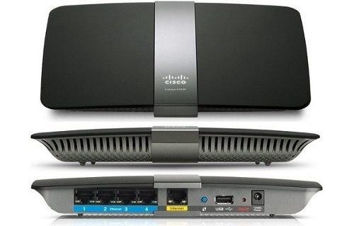 Roteador Gigabit Wireless USB 450 + 450Mbps Dual-Band Cloud EA4500-BR - Linksys  - TNTinfo Loja